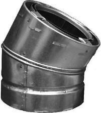 """6""""  All Fuel Triple Wall Chimney Pipe, 30 Degree Elbow, Class A,  6S30 by Airjet"""