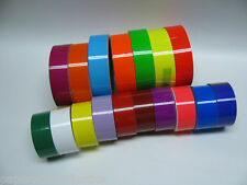 Colored Glossy Vinyl Tape, choose your color and size, Gloss,  Solid Color