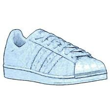 adidas Originals Superstar - Men's Basketball Shoes (Halo Blue Width:Medium)
