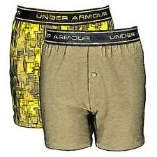 Under Armour Boxer Casual Jock 2-Pack - Boys' Primary Sch. (Sunbleached/GNhead)