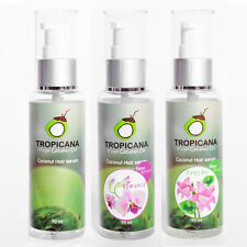 Tropicana Organic Coconut Oil Moisturizing Hair Serum Treatment - Choose Scent
