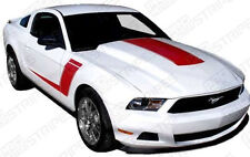 Ford Mustang 2009-2014 Roush 427R Style Stripes Hood & Sides (Choose Color)