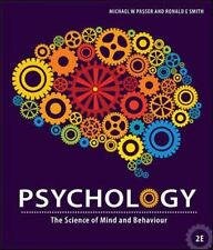 Psychology: The Science of Mind and Behaviour by Passer Paperback Book