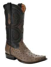 2B41A1 Full Ostrich Quill Western Boots made by Cuadra Boots