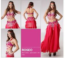 B & D CUP D002 Belly Dance Costume Outfit Set Bra Belt Carnival Bollywood 2 PCS
