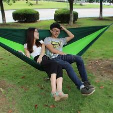 Double Hammock Tree 2 People Person Patio Bed Swing New Cotton Outdoor M3W0