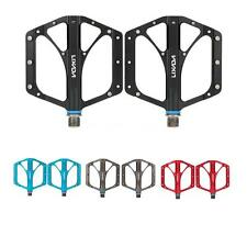 "2Pcs Cycling Mountain MTB Bike Bicycle Alloy Flat-Platform Pedals 9/16"" NEW Y1I3"