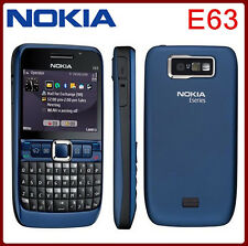 Nokia E63(Unlocked)QWERTY Keypad Wifi 3G Camera 2MP Mp3 Player Mobile Phone