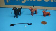 Playmobil animal dog leash mini diorama made in Germany toy CHOOSE one 123