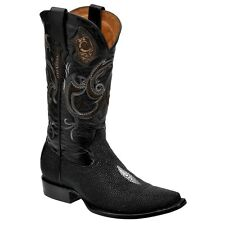 2B03MA Genuine Stingray  Traditional Western Boots made by Cuadra boots