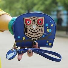 NEW Girl Women Owl Clutch Coin Purse Money Bag Coin Change Zipper Wallet Handbag