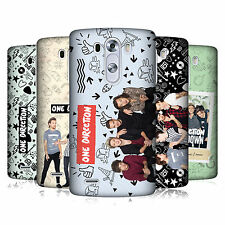 OFFICIAL ONE DIRECTION GROUP PHOTO DOODLE ICON HARD BACK CASE FOR LG PHONES 1