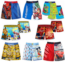 Boys Official Licensed Various Character Swimming Shorts Swim Shorts Trunks
