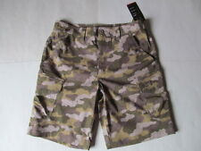 Under Armour Ironsides Cargo man brown camo shorts Brand New