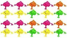 12 Mini Jumping Frog Toys - Fun and Colourful Pocket Money Toys Game