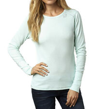Fox Racing Womens Pale Green Boundless Long Sleeve T-Shirt Tee