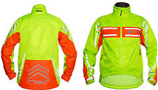 Polaris RBS Grid Hi Viz Waterproof Cycling Jacket All Sizes