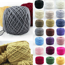 200g Double Hand Knitting Wool Yarn Dk Knit Acrylic Balls Skeins Soft Worsted AS