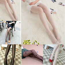 Pattern Jacquard Fashion Stockings Pantyhose Tights HOT Sexy Black Fishnet