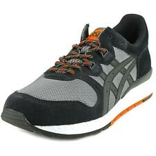 Asics Gel Epirus Men  Round Toe Suede Black Sneakers