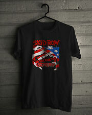 Skid Row T-Shirt, Very successful American heavy metal band in 1980s - 1990s tee