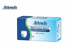 Attends Extra Absorbent Breathable Briefs, Severe Protection, All Sizes - Pack