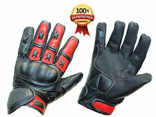 New Leather Motorbike Motorcycle Gloves Real Waterproof Kevlar Protection Gloves