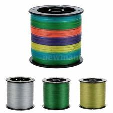 6LB to 40LB 1000M Strong Multifilament Polyethylene Braided Fishing Line NM M4J2