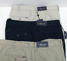 Polo Ralph Lauren Pleated Front Classic Fit Cotton Twill Shorts $85 3 Colors NWT