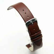 Di Modell Nappa Wapro Brown Leather Watch Strap: all sizes 8mm - 20mm (P5)
