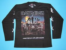 Iron Maiden - A Matter of Life and Death T-shirt Long Sleeve Size L