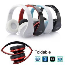 Wireless Bluetooth Gaming Headset Stereo Headphone Earphone for iPhone Samsung H