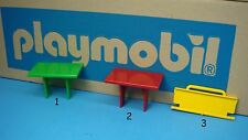 Playmobil 3249 vintage Caravan Camper table 3148 RV safari 3189 trailer door 153