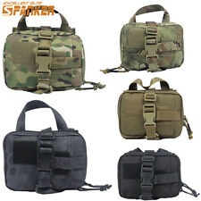 1000D Tactical Molle Medical First Aid Kit Pouch Home Rescue Bag Travel Airsoft