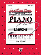 David Carr Glover Method for Piano Level 4