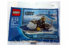 """*NEW* 10 Bags Lego CITY POLICE BOAT Polybag 30002 """"BULK* Party Favors"""