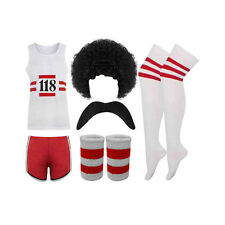 WOMEN MEN FULL SET 118 FANCY DRESS COSTUME MARATHON RETRO SHORTS VEST SOCKS LOT