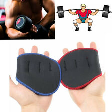 Comfort Grip Weight Lifting Pads Gloves Fingerless Gym Workout Fitness Training