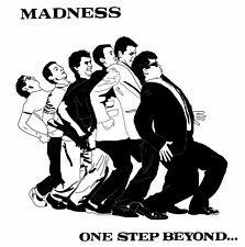 """MADNESS """"ONE STEP BEYOND"""" Retro Album Cover Poster Various Sizes"""