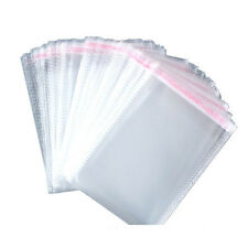 100 PCS OPP Clear Transparent Seal Pack Self Adhesive gift Packages Bag