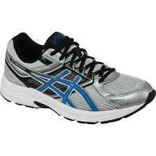 Asics Gel-Contend 3 (4E) Mens Running Shoe  Silver-Electric Blue-Black