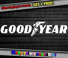 Car Sponsor Goodyear Tire Funny Vinyl Sticker Decal Graphic Car Truck Wall