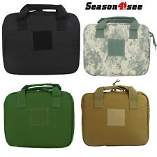 "1X Tactical 12"" Nylon Molle Padded Hand Pistol Gun Carry Bag Pouch Case"
