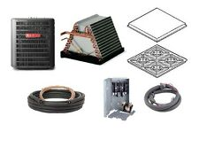 Goodman GSX13 Central Air Conditioning Packages! Condenser-Acoil-linset-pad More