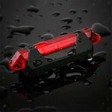 USB High-brightness LED Light Bicycle Rear Tail Lamp Rechargeable Waterproof