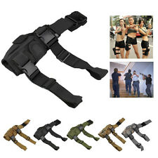 Adjustable Hunting CS Cosplay Tactical Puttee Thigh Leg Pistol Gun Holster Pouch