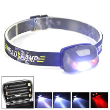 3000LM XPE+2 Red LED Mini Headlamp  Headlight 5 Modes Flashlight Head Torch Lamp