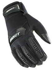 Joe Rocket Mens Black/Black Velocity 2.0 Textile Motorcycle Gloves