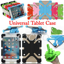 """For RCA 7"""" 8"""" 10"""" Tablet PC Shockproof Stand Soft Silicone Elastic Cover Case"""