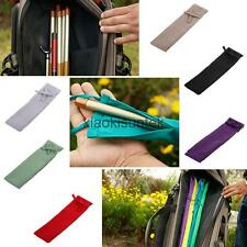 Cotton Cloth Fishing Rod Sleeve Cover Pole Sock Glove Jacket Protector Bag Pouch